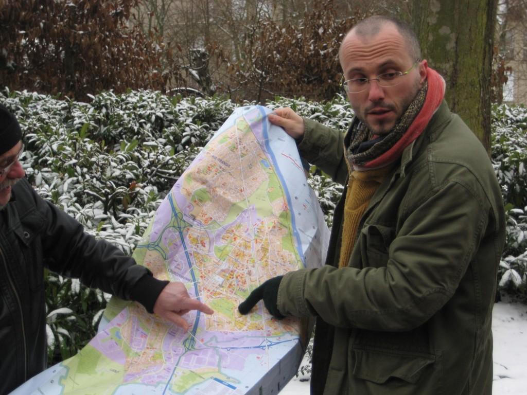 Balade urbaine avec Franck Senaud