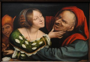 Ill-Matched_Lovers_by_Quentin_Massys,_Netherlandish,_c._1520-1525,_oil_on_panel_-_National_Gallery_of_Art,_Washington_-_DSC09936