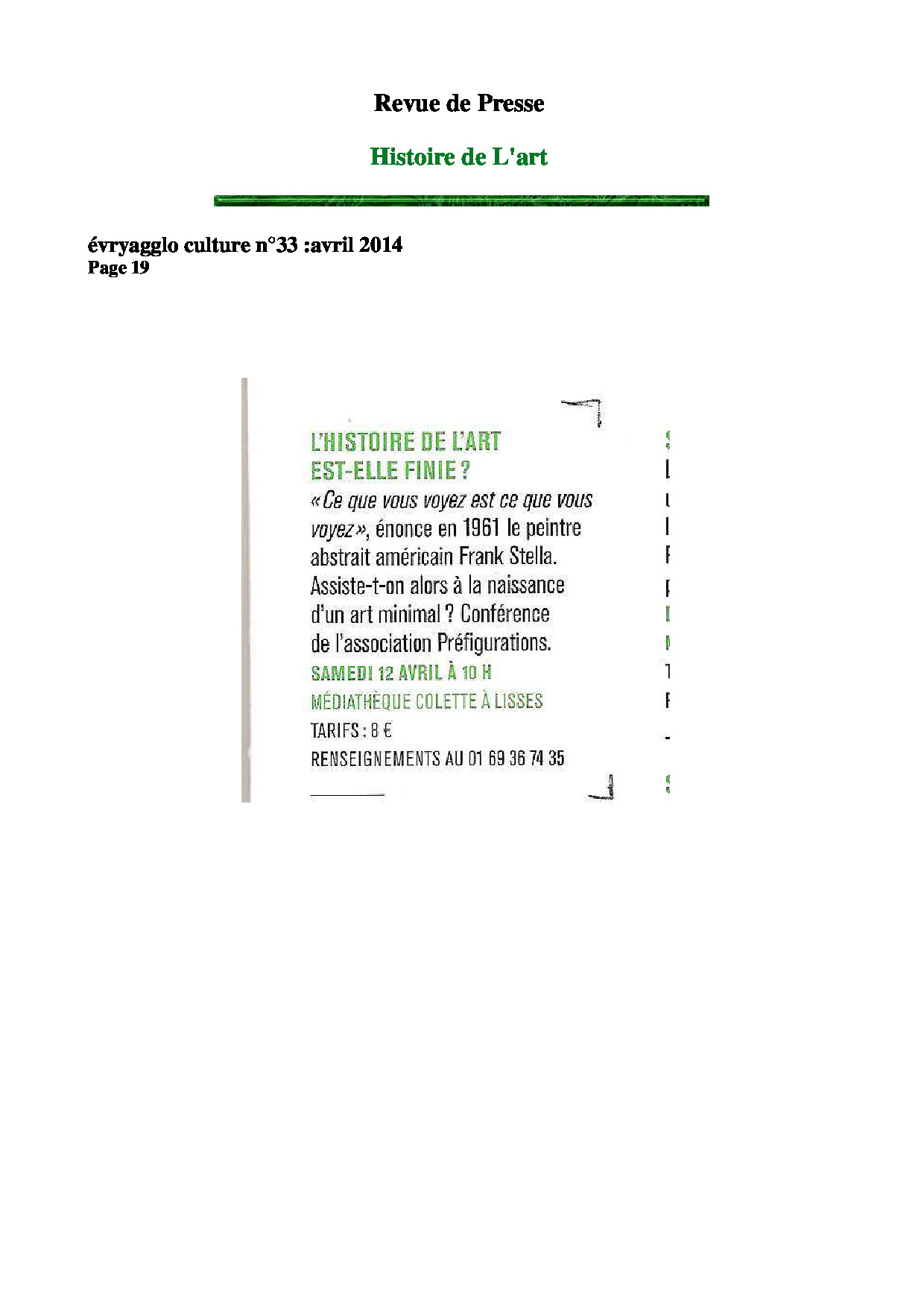 RDP Evry agglo n°33 avril 2014 page 19