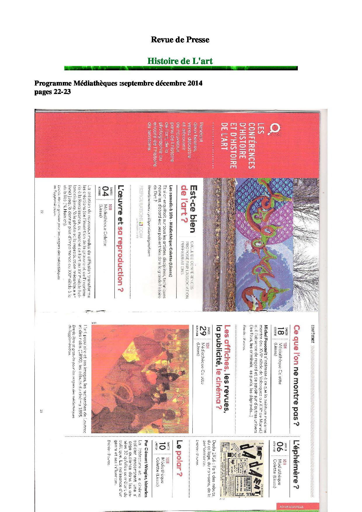 RDP programme des médiathèques sept decembre 2014 (1)