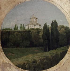 Rom, Villa Borghese / Gemaelde v.Ingres - Rome / Villa Borghese / Ingres, Painting -