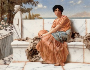 godward-in_the_days_of_sappho-1904