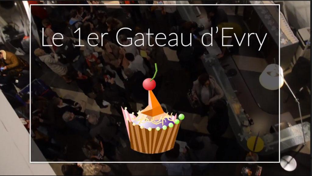 La vidéo du 1er Gâteau d'EVRY (Sélection du meilleur Gâteau et du plus beau packaging)