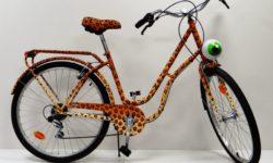 Vélo par Le Cyclop Artiste Street Art