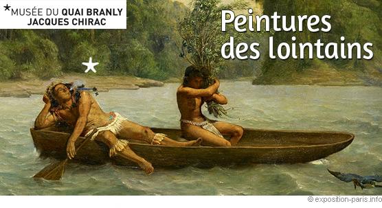 SORTIE- Exposition « Peintures des Lointains » @ Musée quai Branly, Mezzanine ouest