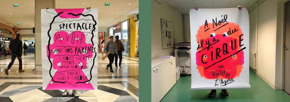 EXPO et atelier affiches de Benoit et Fred