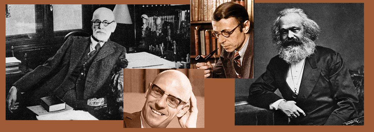 """HISTOIRE Des IDEES """"Sartre, Foucault, Marx, Freud bouleversements de l'esprit"""""""