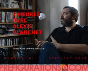La Revue Préfigurations n°101, entretien avec Alexis Blanchet