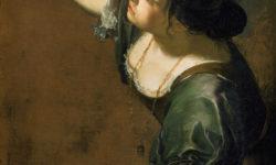 Artemisia GENTILESCHI (1593-1652) - autoportrait