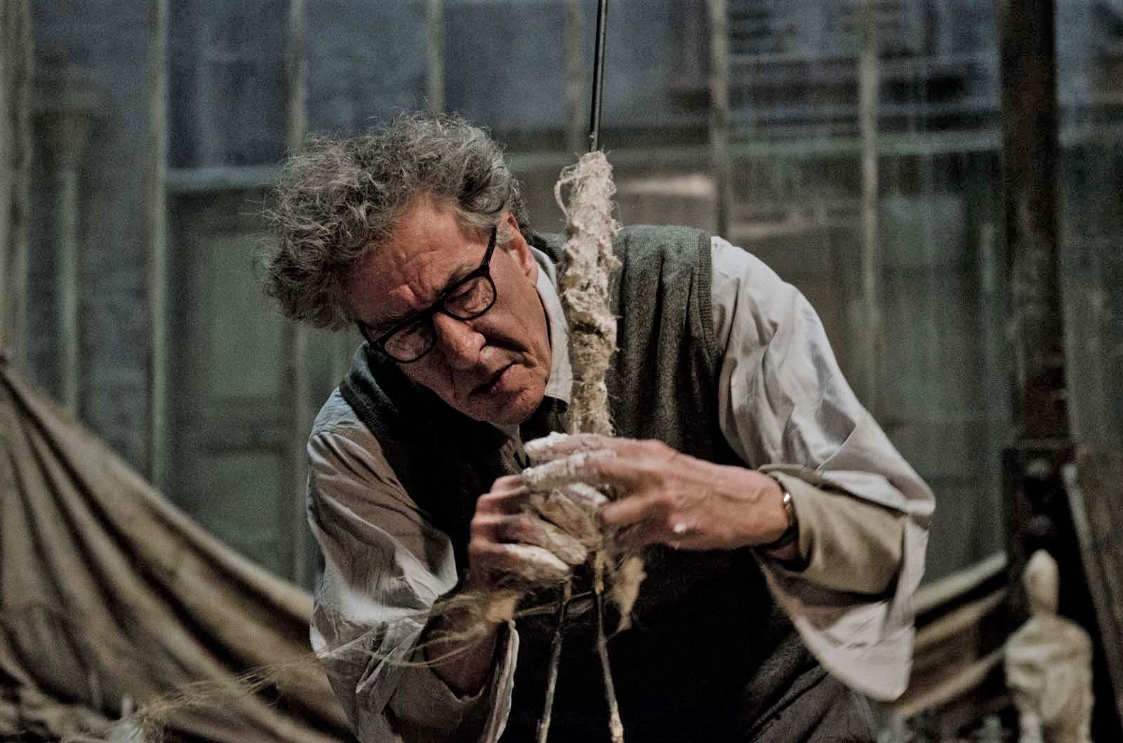 The final portrait, Giacometti, film