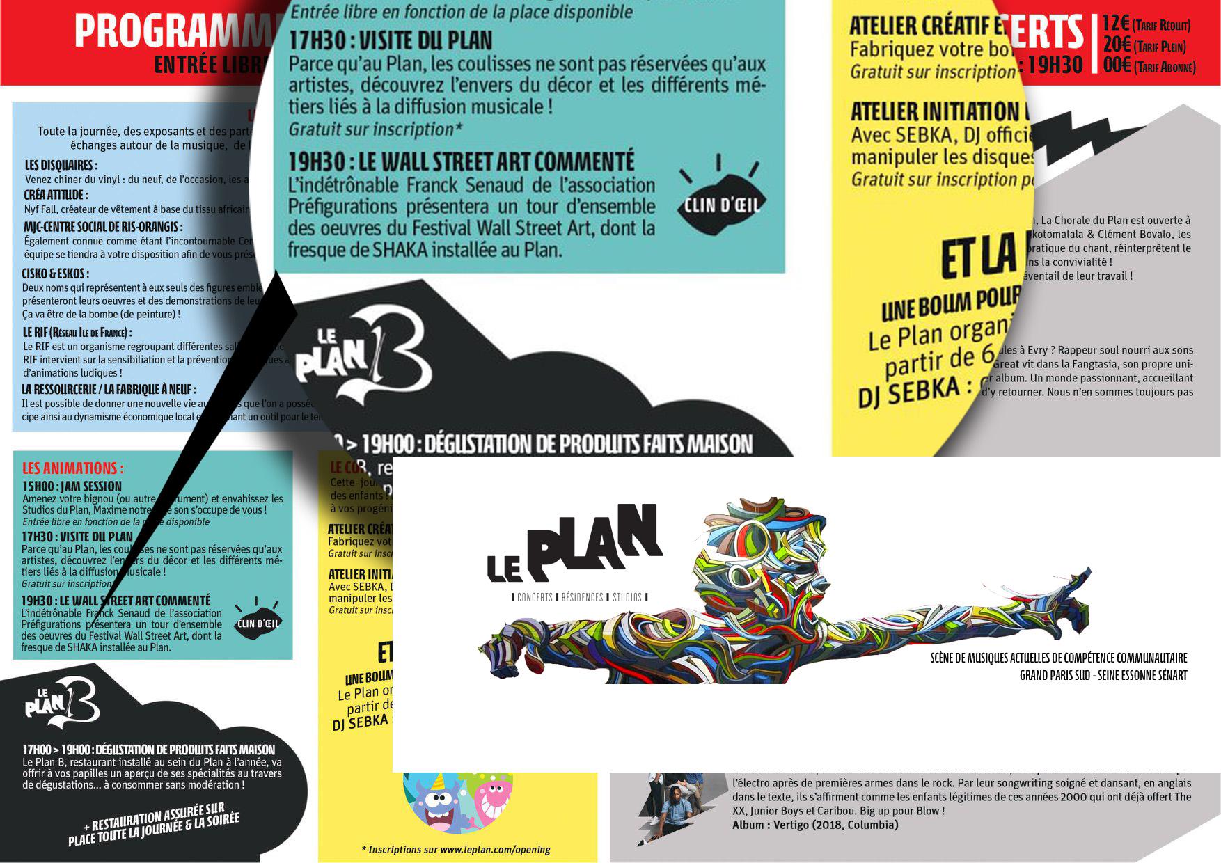 "CONFÉRENCE clin d'oeil ""Les perles du Wall Street ART » @ Le Plan"