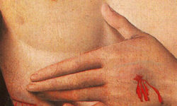detail-1490_Giovanni_Santi_-_Christ_supported_by_two_angels_D