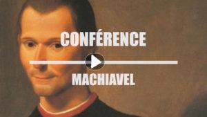 Vidéo Conférence HDI : «Machiavel»
