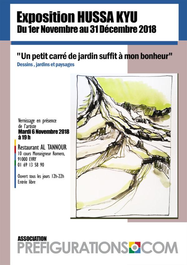 "EXPO-RENCONTRE ""Un carré de jardin"", Mardi 6 Novembre 2018"