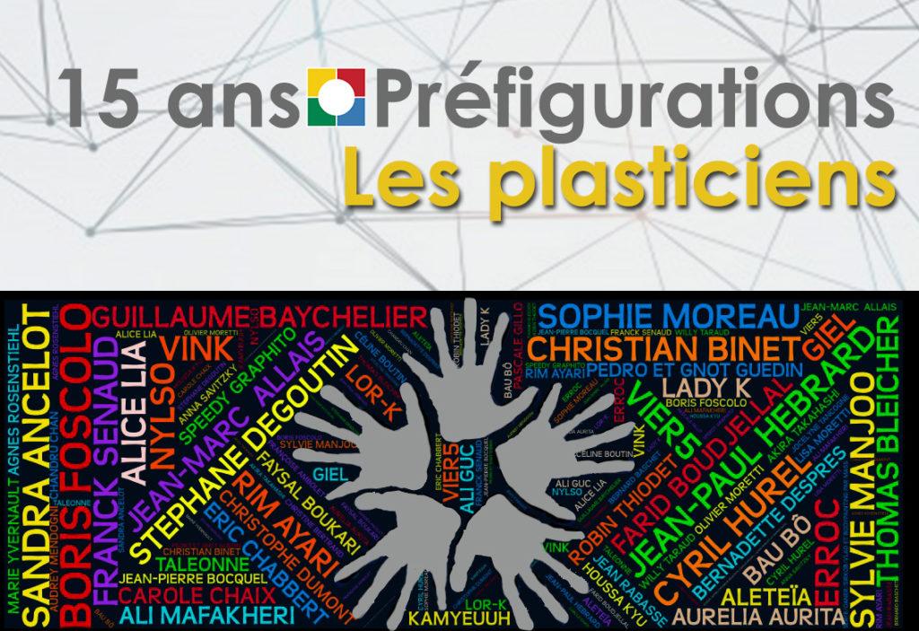 NUAGE DE MOTS 15 ANS – Les Plasticiens