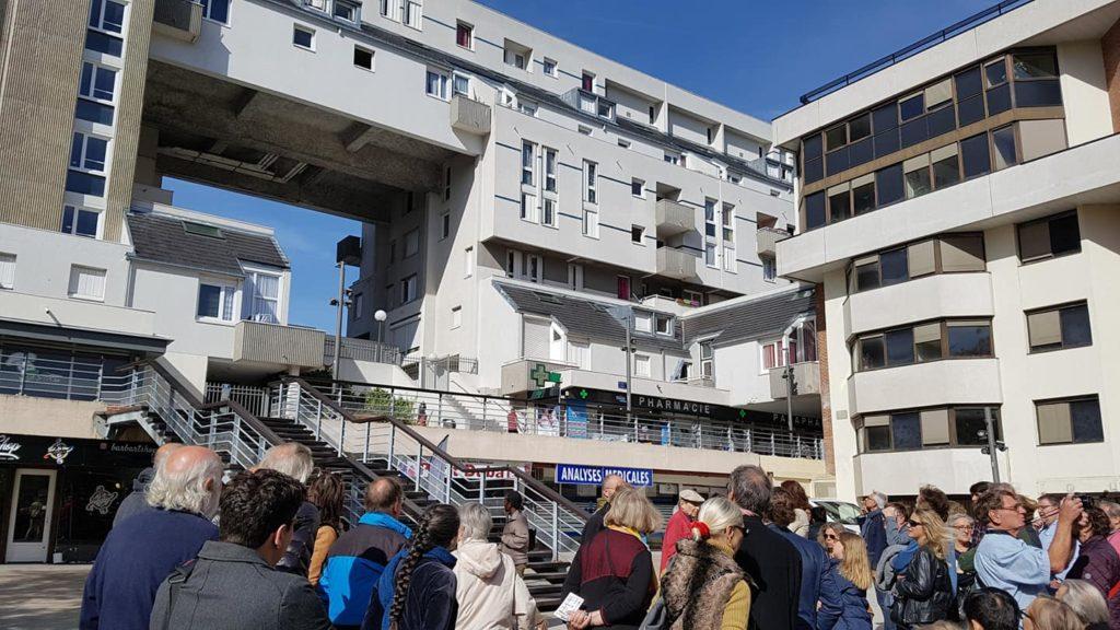 """VISITE-BALADE """"Histoire d'Evry ville nouvelle"""", Sam 1er décembre 2018"""