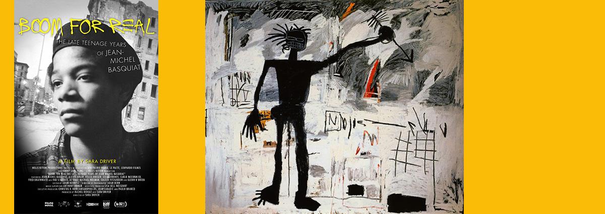 """CINÉ-PEINTURE """"Basquiat"""""""