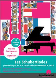 EXPO-CONCERT, Les Schubertiades, Vendredi 18 Janvier 2019