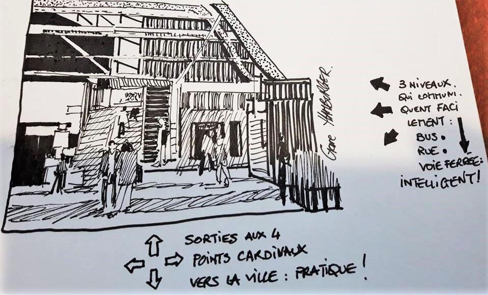 BALADE commentée Architecture Evry @ Office de Tourisme,Tel : 01 64 96 23 97