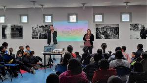 VIE DE L'ASSO : Les enfants et l'Histoire des pyramides d'Evry