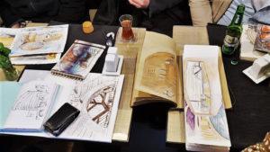 SORTIE-croquis, Urban sketchers Essonne, Samedi 23 Mars 2019