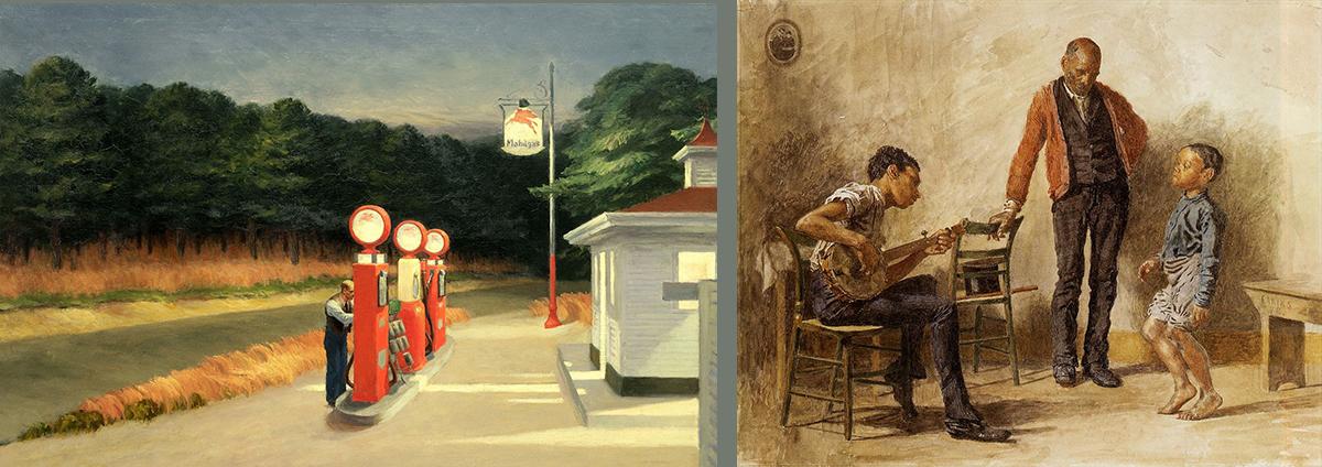 Histoire de l'Art : Peintures américaines 1880-1940