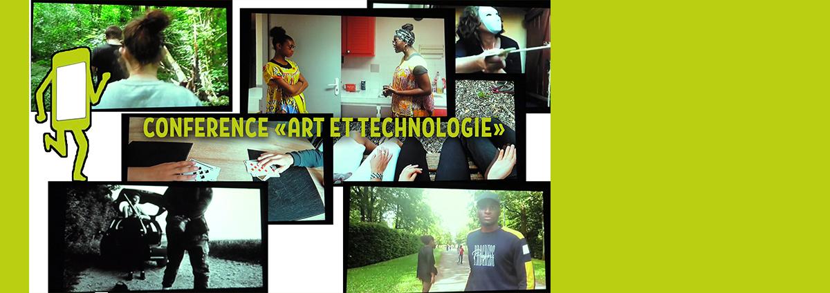 """Conférence AAP : """"Art et technologie"""", avant le concours vidéo Marathon Ciné"""