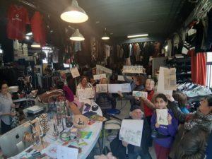 VIE DE L'ASSO : Sortie USK Essonne à la Friperie et Cité artisanale d'Evry