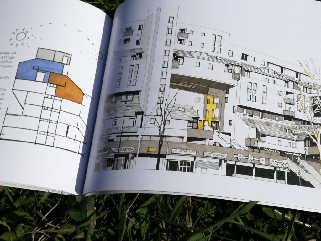 BALLADE ARCHITECTURE d'Evry , Samedi 20 avril 2019