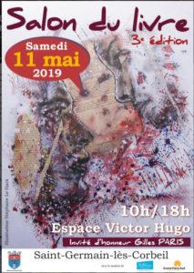 SALON DU LIVRE Saint-Germain-lés-Corbeil , Samedi 11 mai⋅2019