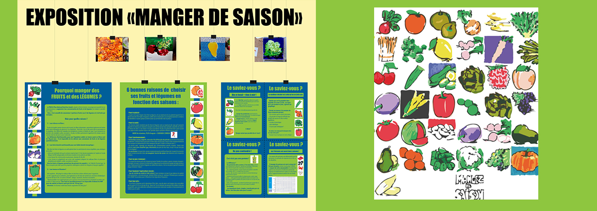 "EXPOSITION ""Manger de saison"""