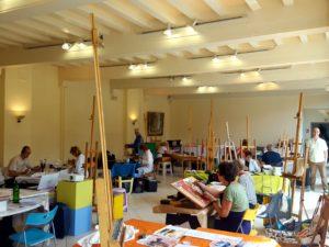 VIE DE l'ASSO : Stage peinture 2019 à Autun