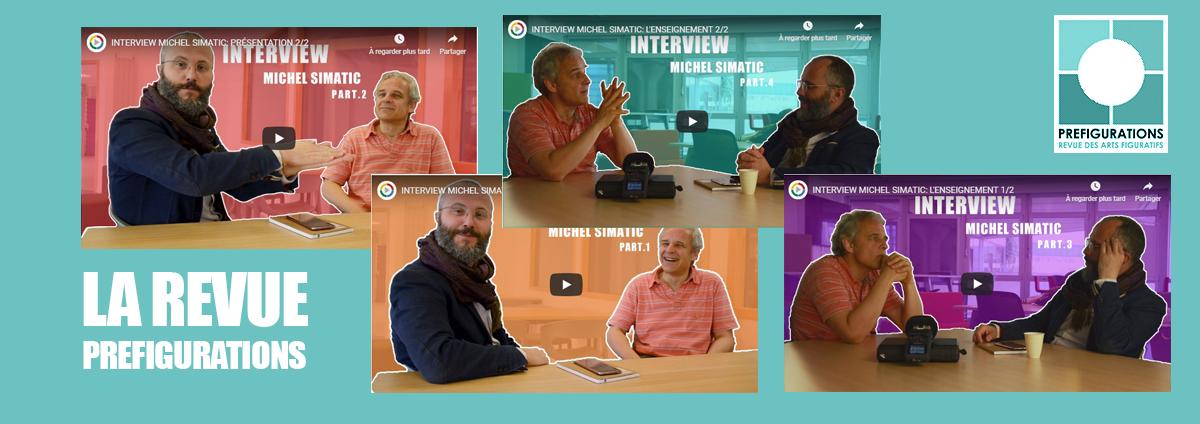 La REVUE Préfigurations : Interview Michel SIMATIC