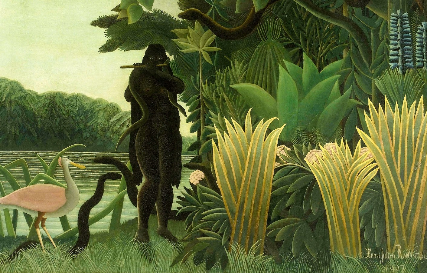 Henri-Rousseau-Douanier-Rousseau-La-Charmeuse-de-Serpent