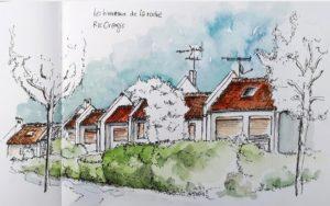 VIE ASSO : Les Croquis USK pour LES HAMEAUX DE LA ROCHE