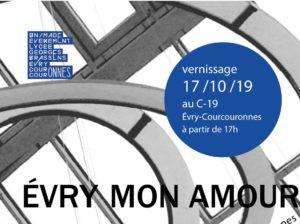 "EXPO-RENCONTRE ""Evry mon amour"", Jeudi 17 Octobre 2019"