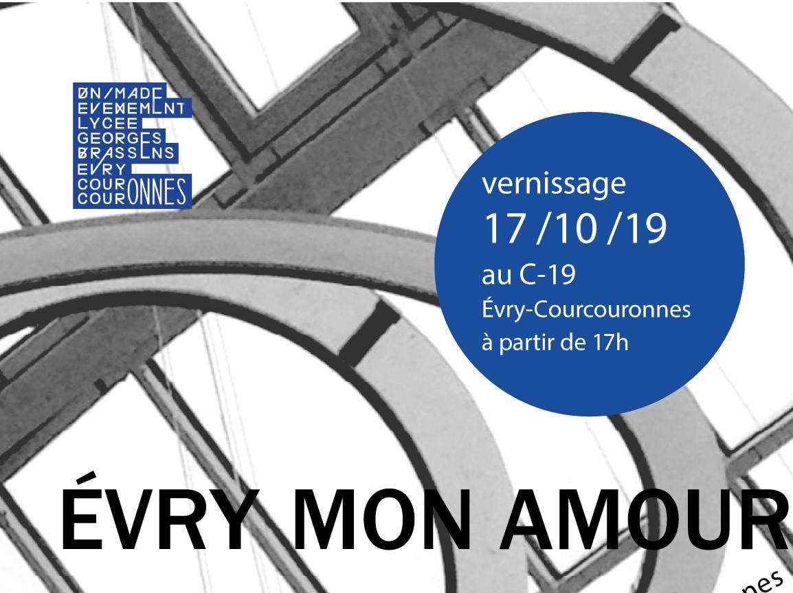"""EXPO-RENCONTRE """"Evry mon amour"""", Jeudi 17 Octobre 2019 @ C-19, 19 cours Blaise Pascal, 2 éme étage"""