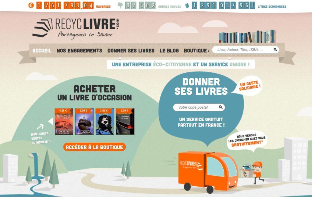 RecycLivre  : Samedi 14 Décembre 2019, 10h, Médiathèque, Lisses