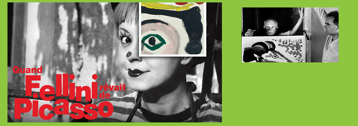 """CINÉ-PEINTURE """"Quand Fellini rêvait de PICASSO"""""""