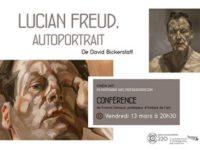 """CINÉ-PEINTURE """"Lucian FREUD"""" , Vendredi 13 mars 2020"""