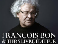 RESIDENCE François Bon au C-19 : stage Littératube