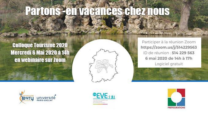 Colloque Tourisme: Partons en vacances chez nous ! Mercredi 6 Mai 2020 en ligne
