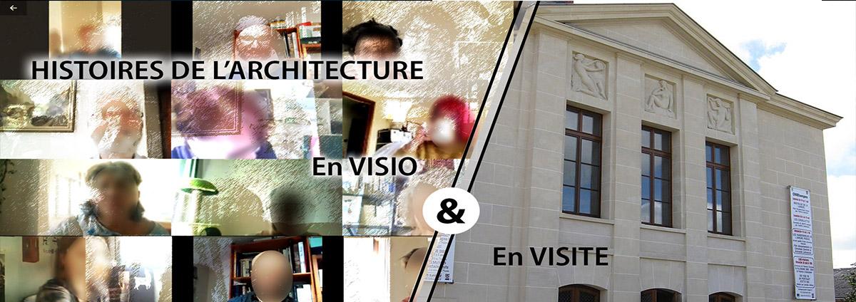 5 vendredi et 5 dimanche : Sortie Histoires de l'architecture, N°1 à Etampes en visio puis en visite