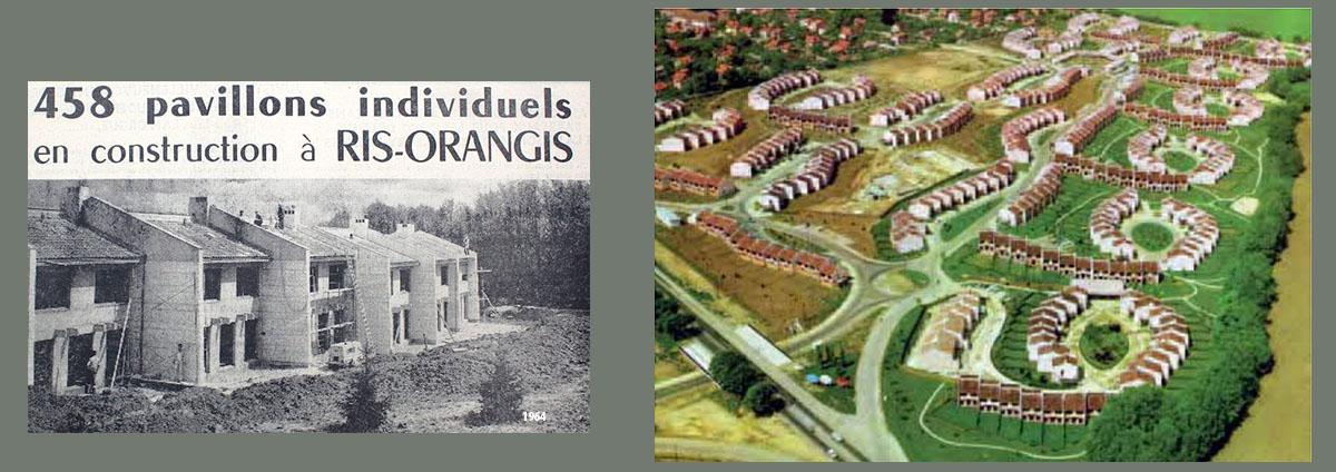 Sortie HISTOIRES DE L'ARCHITECTURE ⅗ : 1960 Les Hameaux de la Roche à Ris-Orangis,