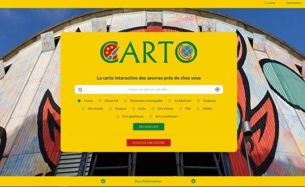 Une Carte pour découvrir l'ART dans EVRY et RIS