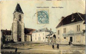 Sortie CROQUIS Urban sketchers : Vert-le-Grand, Samedi 13 juin 2020
