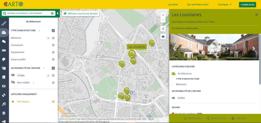CartO Préfigurations : 5 places publiques analysées par les étudiants en design du lycée Brassens