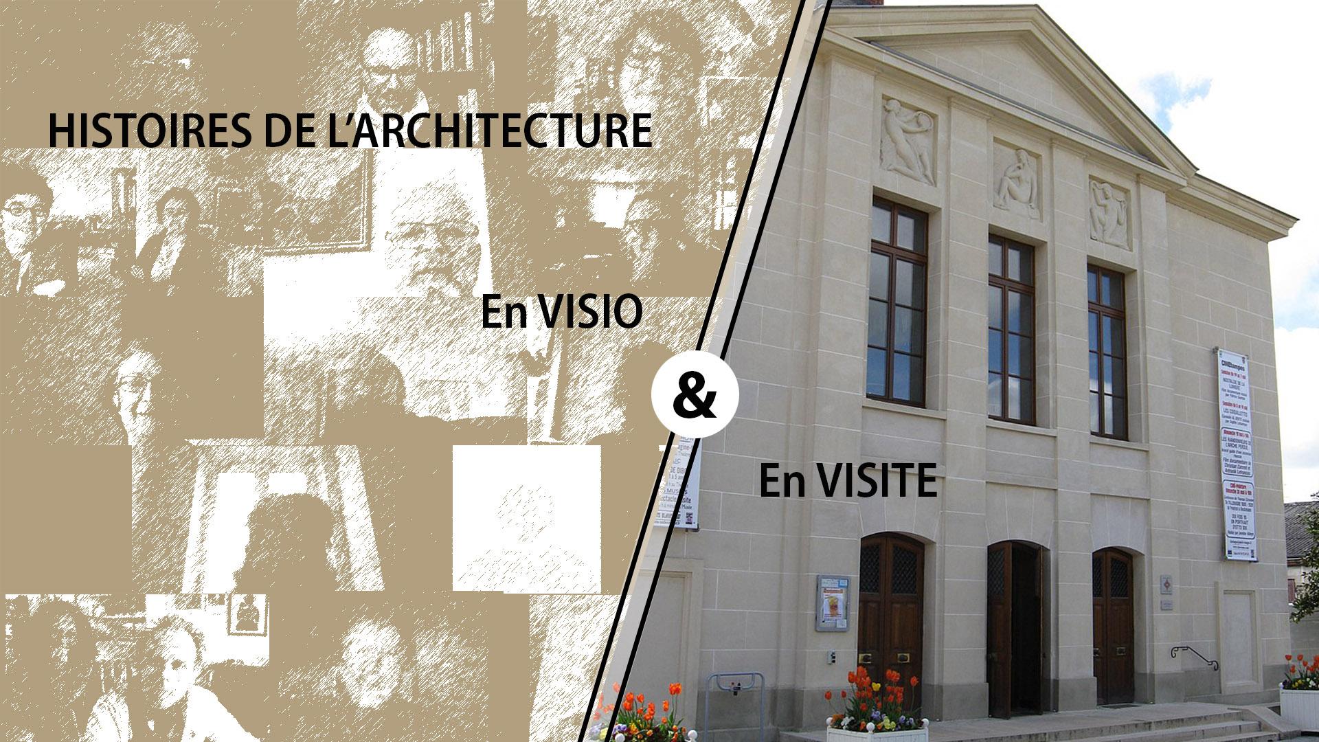 EN DIRECT EN LIGNE, 5 INTRODUCTIONS AUX HISTOIRES DE L'ARCHITECTURE : à partir du vendredi 5 Juin 2020 @ En Visio sur zoom