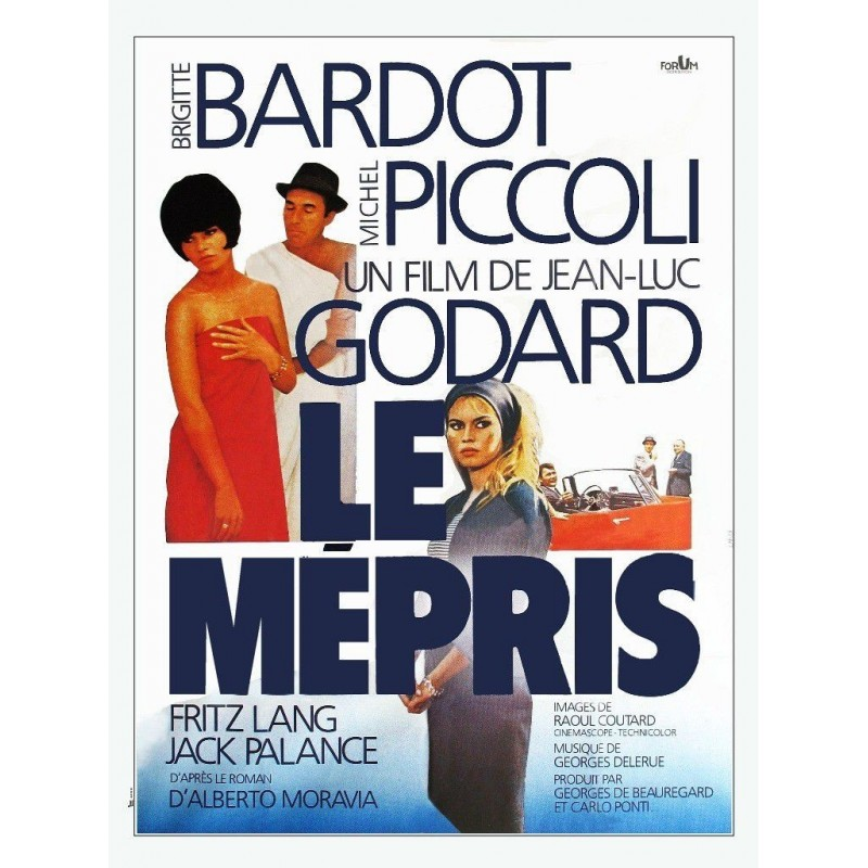 Ciné-Hommage « Michel Piccoli »: « Le mépris » de Godard @ Ciné 220