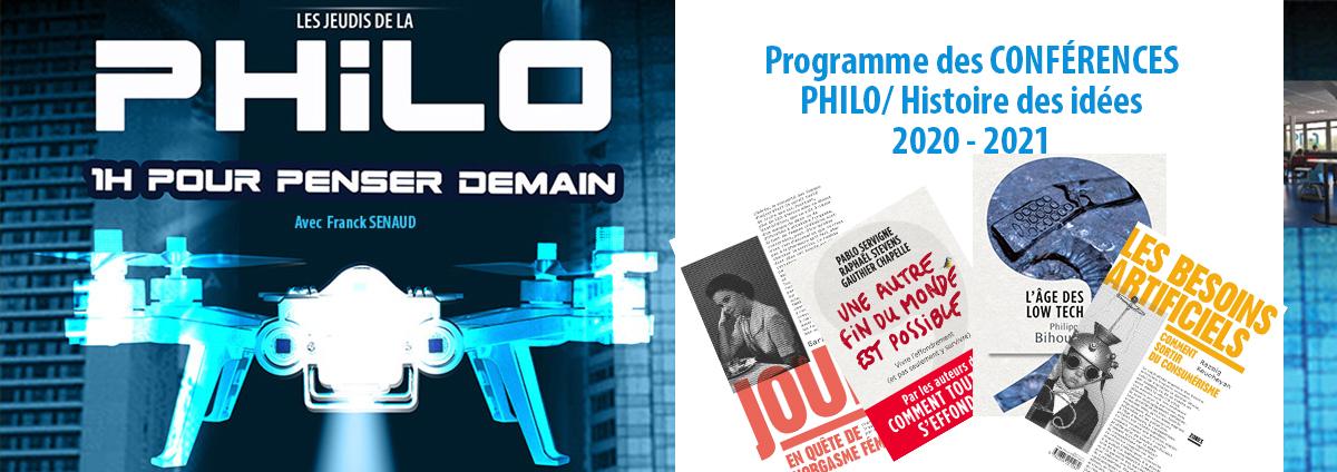 """Conférence PHILO / HDI : """"Les Besoins Artificiels"""" @ C-19"""
